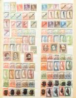 1913-1969 Tartalmas, szépen rendezett magyar gyűjtemény, benne blokkok, jó sorok (Keskeny Madonna, Repülők stb.), összefüggések, érdekességek is, 2 db nagyalakú Schaubek berakóban. Magas katalógus érték!