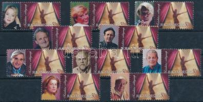 2006 Színészek 10 klf megszemélyesített bélyeg / 10 different stamps