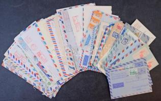 80 db légiposta levél az egész világból
