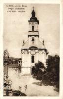Szekszárd az 1925-ben leégett templom