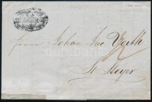 1848 Levél / Cover SZEGEDIN - Steyer
