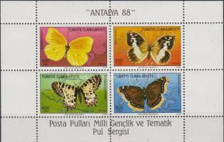 Butterflies block, Lepkék blokk, Schmetterlinge Block