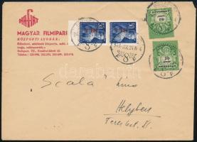 1946 (27. díjszabás) Budapest helyi levél (1 napos türelmi idő) / Local cover