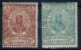 1910 Garibaldi sor Mi 97-98