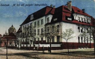 Szolnok, Állami polgári leányiskola és zsinagóga
