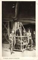 Első világháborús magyar léghajósok WWI Hungarian ballonists