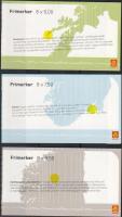 2004 EUROPA CEPT 3db bélyegfüzet