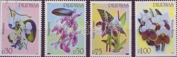 2003 Orchideák sor Mi 3426-3429