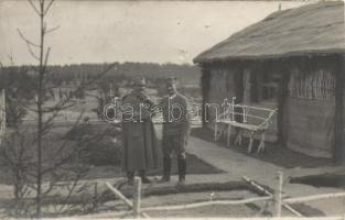 Military WWI officers photo, Katonaság, I. világháborús tisztek fotó