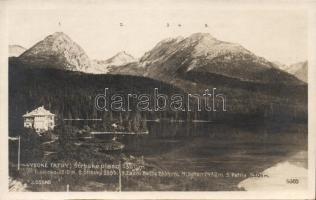 Tatra, Strbské pleso / lake, Tátra, Csorba-tó