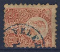 1871 Réznyomat 5kr, kék VELEJ(TE)