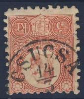 1871 Réznyomat 5kr CSUCSA (Gudlin 250 pont)