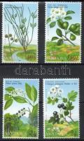 2004 Veszélyeztetett növények sor Mi 501-504