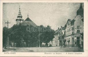 Satu Mare, Biserica cu lanturi / church, Szatmárnémeti, Láncos templom, kiadja Béres Károly