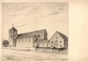 Gräfelfing church, Gräfelfing templom