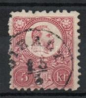1871 Réznyomat 5kr GIRÁLT