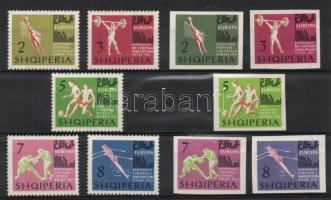 1963 Europa bajnokság Mi 763-772