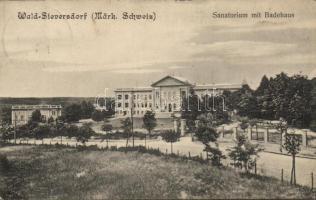 Waldsieversdorf, Sanatorium, Badenhaus / sanatorium, spa