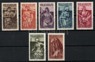 1934 Népszavazás Mi 199-205