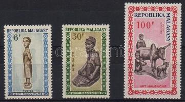1964 Fafaragások Mi 523-525
