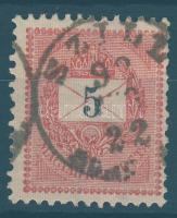 1889 5kr SZILL SOMO(GY M.)