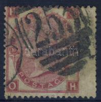 1867 Mi 28 Pl.10 széles rand