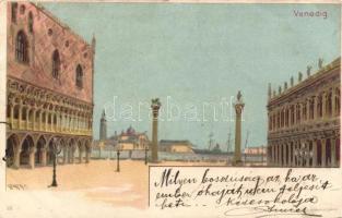Venice, Venezia; litho s: Geiger R.