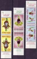 1965 Orchideák fordított párokban Mi 556-558