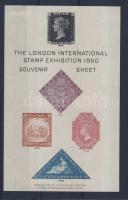 1950 Londoni nemzetközi bélyegkiállítás emlékív