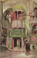 Venice, Venezia; Chiesa S. Marco / church, interior So. Stpl