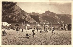 Gmunden beach, Gmunden strand