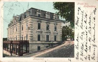 Lázne Jeseník, Gräfenberg; Kaiserhof
