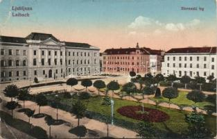 Ljubljana Slovenian square (EB)