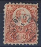 1871 Réznyomat 5kr (rövid sarok) VINKOVCE gyűszübélyegző