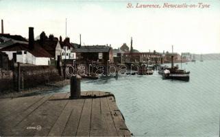 Newcastle upon Tyne, St. Lawrence, port / ship