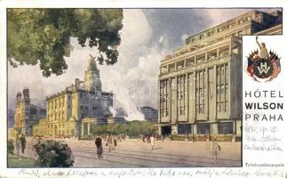 Praha, Prag; Hotel Wilson