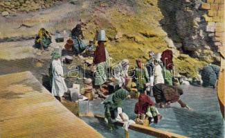 Nile, water carriers, Nílus, vízhordók
