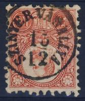 1871 Réznyomat 5kr / Mi 10 SZINYÉR VÁRALLYA