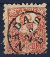 1871 Réznyomat 5kr / Mi 10 NÁDAS
