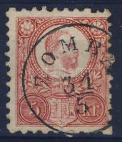 1871 Réznyomat 5kr / Mi 10 ZOMBA