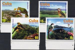 2003 Ökoturizmus, madarak és tájak Mi 4549-4552