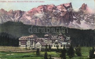 Latemar, Karersee Hotel