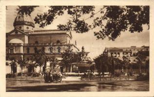 Rome, Roma; Piazza dei Quiriti, fontana / square, fountain, motorcycle