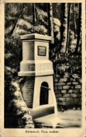 Kőrösmező, Tisza eredete, Yasinia, fountain