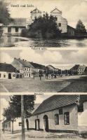 Veselí nad Luznicí, Válcovy mlyn, Námésti, Rodny domek spisovatéle Václava Filipka /  mill, the birth house of Vaclav Filipek