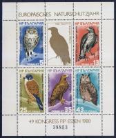 1980 Europai természetvédelem Mi blokk 105