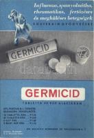 Germicid medicine advertisement (non PC), Germicid gyógyszer reklám (non PC)
