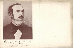 Antal Csengery, originator of the Hungarian grammar school sytem, Csengery Antal, a polgári iskola megteremtője