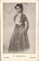 Irén Sz. Varsányi in The Dancer, Sz. Varsányi Irén, A táncosnő