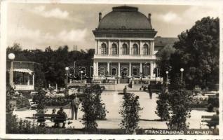 Frantiskovy Lazne, Franzensbad; Kurhaus / spa building